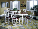 British Isles Oval Table and 6 Side Chairs