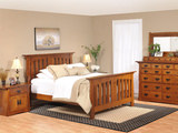 Amish Aurora Queen Bedroom