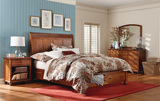 Covington Queen Storage bed by Amish Craftsmen