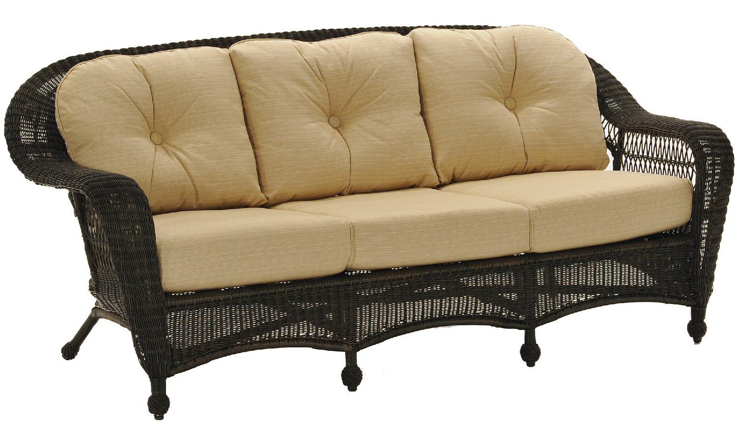 Charleston Wicker Sofa