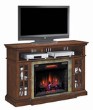 Lakeland electric fireplace with Quartz heat element