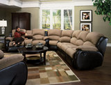 "Galaxy 3-Piece Reclining ""Options"" Sectional"