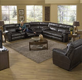 Ryan 3-Piece Reclining Sectional