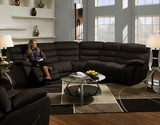 Roman 2-Piece Reclining Sectional