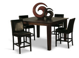 Provence Counter Height Dining Table With 4 Charles Counterstools