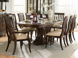Westwood Oval Dining Table With 4 Slat Side Chairs