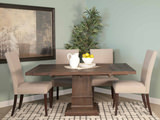 Hudson Square Table with 4 Side Chairs
