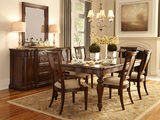Egerton Leg Table With 4 Side Chairs