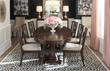 Presidio Dining Table and 4 Side Chairs