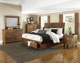 River Ridge 4-Piece King Storage Bedroom Suite
