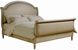 Provenance Upholstered King Sleigh Bed