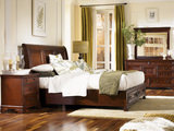 Richmond 4 PC Queen Sleigh Storage Bedroom Suite