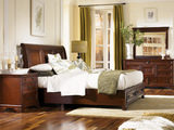 Richmond 4 PC King Sleigh Storage Bedroom Suite