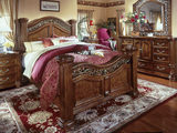 Cordoba 4-Piece King Poster Bedroom Suite