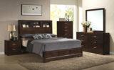 Donovan King Bookcase Bedroom Suite